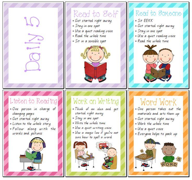 Teacher Time Clipart Daily 5