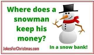 Snowman Cartoon Jokes #1