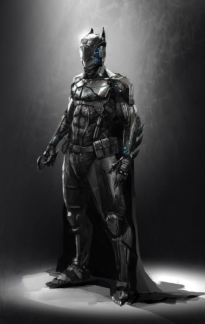 Batman Redesigned | Concept Artwork For Different Versions Of The Bat Suit