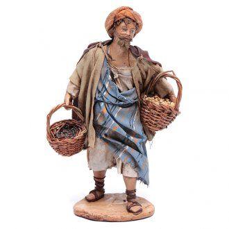 Venditore di semi 13 cm presepe Angela Tripi | vendita online su HOLYART