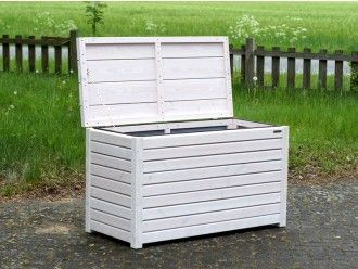Auflagenbox / Kissenbox Holz M