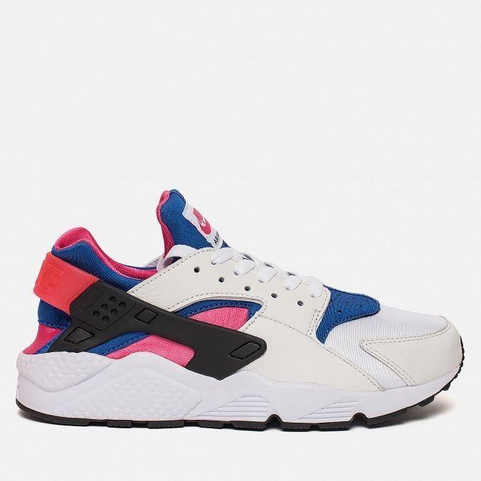 Мужские кроссовки Nike Air Huarache Run '91 QS White/Game Royal/Black/Dynamic Pink