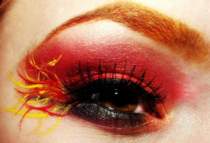 Makeup Ideas fire makeup : ... Fire Makeup on Pinterest : Smokey Eye Tutorial, Games Makeup and