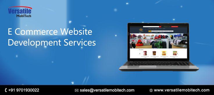 Versatile Mobitech Services: Best  e-commerce website development services