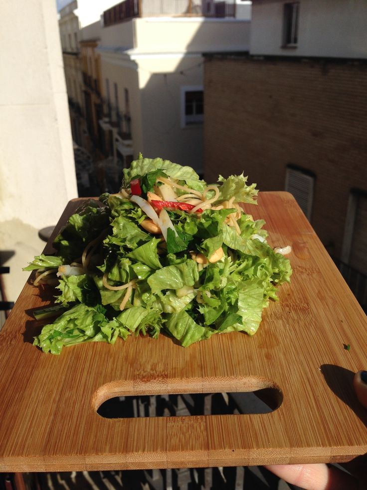 Spanish Squid Salad