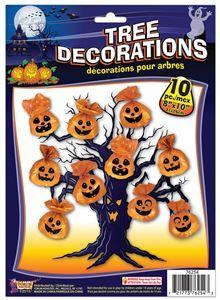 Spooky Tree Bag Decorations 10ct (More Styles) - 371891   trendyhalloween.com
