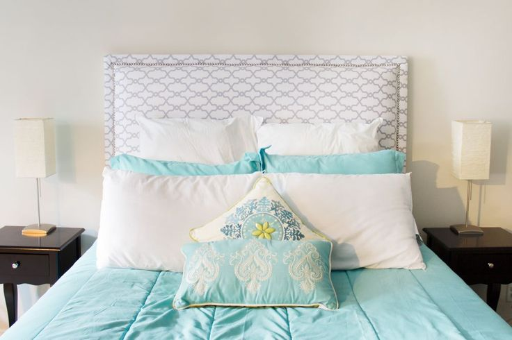 31 best do it yourself images on pinterest projects for Easy do it yourself headboard ideas