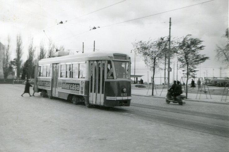 Madrid EMT 1964  1-1152, Plaza de Castilla, 19-4-1964