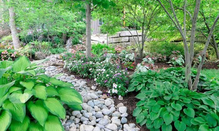 Dry creek bed Home Landscaping Pinterest