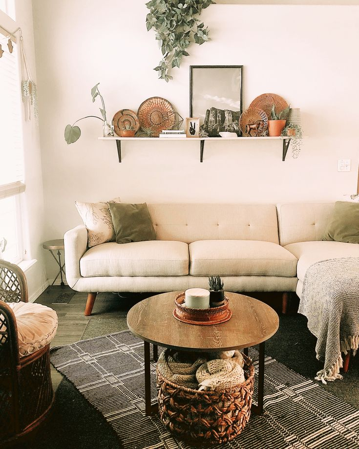 Boho Modern Livingroom Decor
