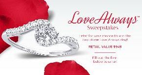 Samuels Jewelers - Win a Two-Stone Love Always Ring worth $949 - http://sweepstakesden.com/samuels-jewelers-win-a-two-stone-love-always-ring-worth-949/