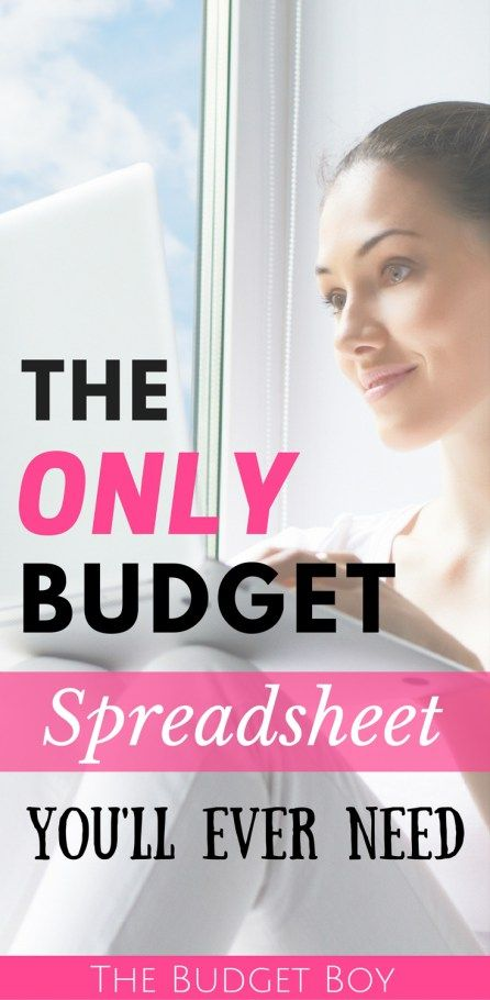 Learn how to budget your money, track spending with an expense tracker, track bills so you never miss a payment, and track your net worth... all in a single budget spreadsheet.