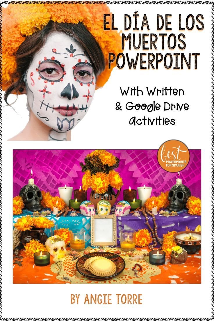 Da De Los Muertos Day Of The Dead Powerpoint And Activities   The Day Of The Dead In Mexico And Latin America Also Included Are   Vocabulary Words Illustrated Descriptions Written Activities Essay  Comparison  Essay For Students Of High School also Best Custom Writing Service  Essays For High School Students To Read