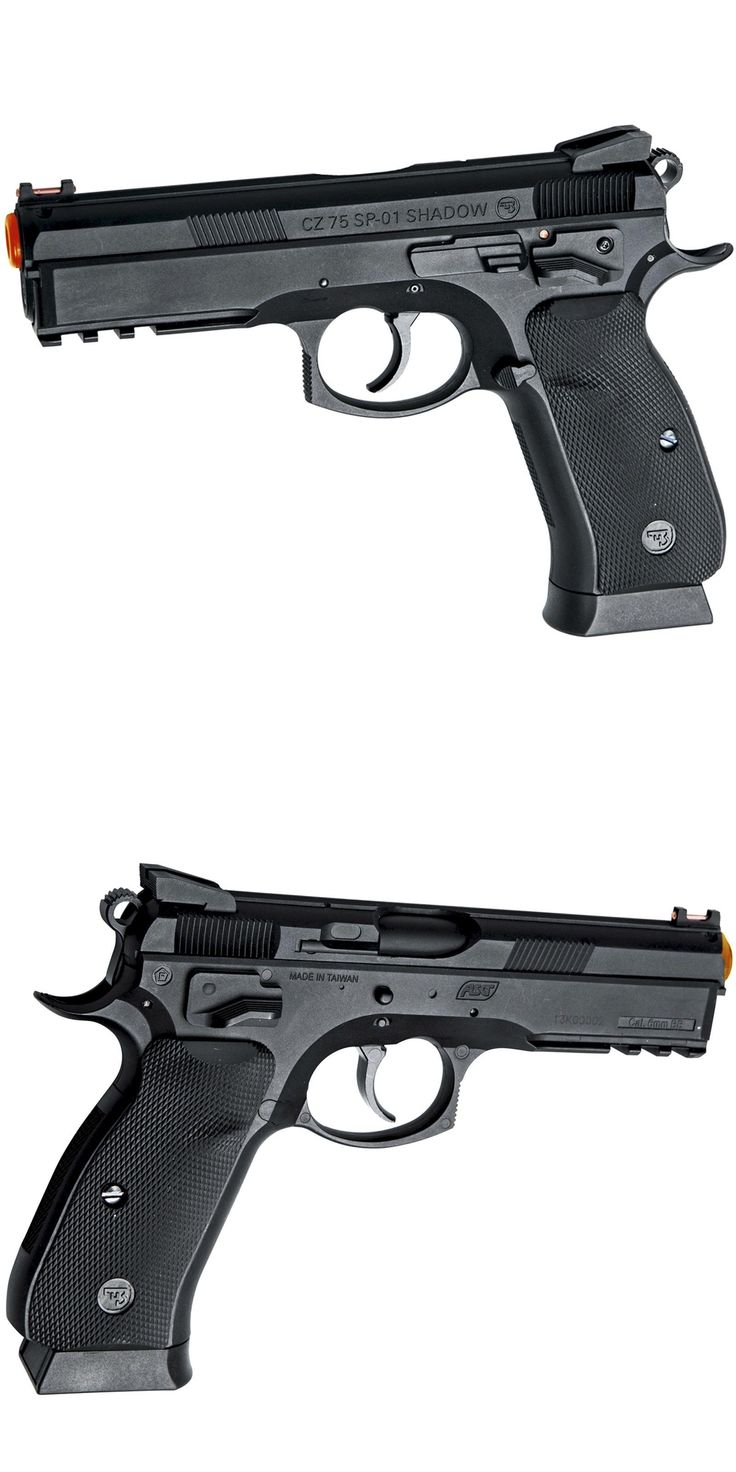 Pistol 160921: Asg Licensed Cz 75 Sp-01 Shadow Co2 Gas Non Blowback Gnb Airsoft Pistol 50084 -> BUY IT NOW ONLY: $44.99 on eBay!