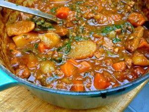 My Mum's Secret Beefless Finger Licking Stew - Mouthwatering Vegan Recipes™ « Mouthwatering Vegan Recipes™