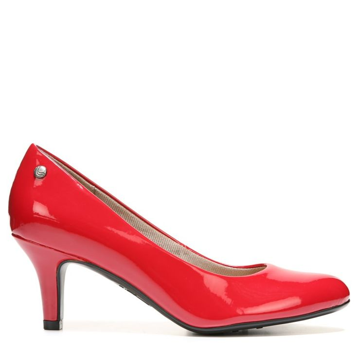 Lifestride Women's Parigi Narrow/Medium/Wide Pump Shoes (Classic Red)