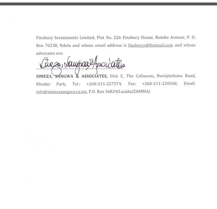 Dr. Rajan Mahtani settles the dispute of Zambezi Portland Cement Factory- https://goo.gl/caLYxi