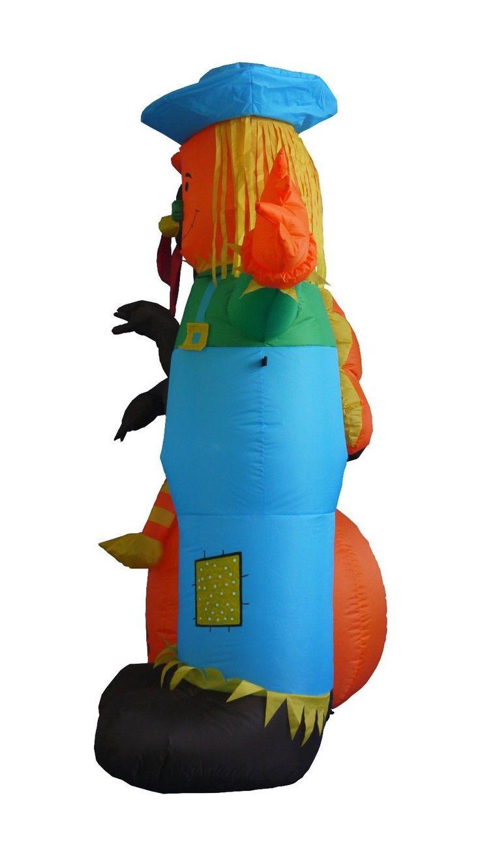 halloween thanksgiving inflatable turkey scarecrow pumpkin balloon decoration - Halloween Decorations Ebay