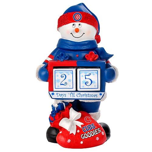 Chicago Cubs Snowman Countdown Calendar