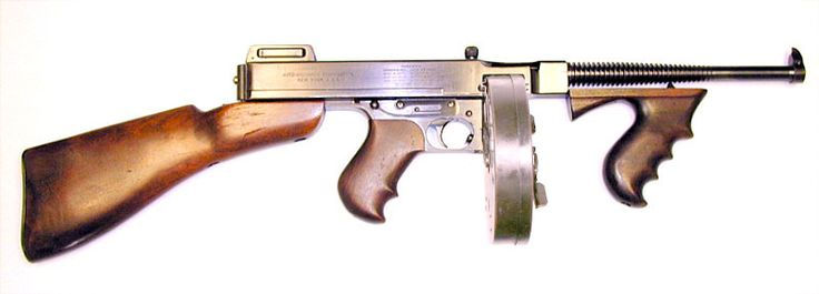Colt 1921A Thompson submachine gun
