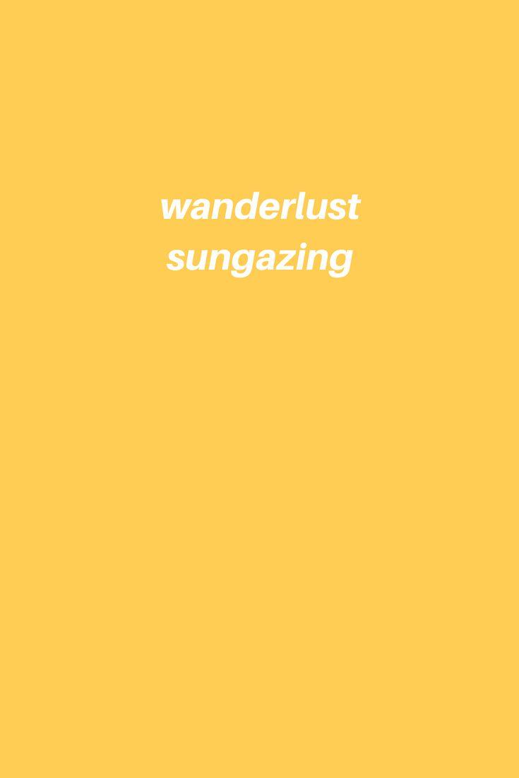 cover wanderlust sungazing board by poppy grace yellow