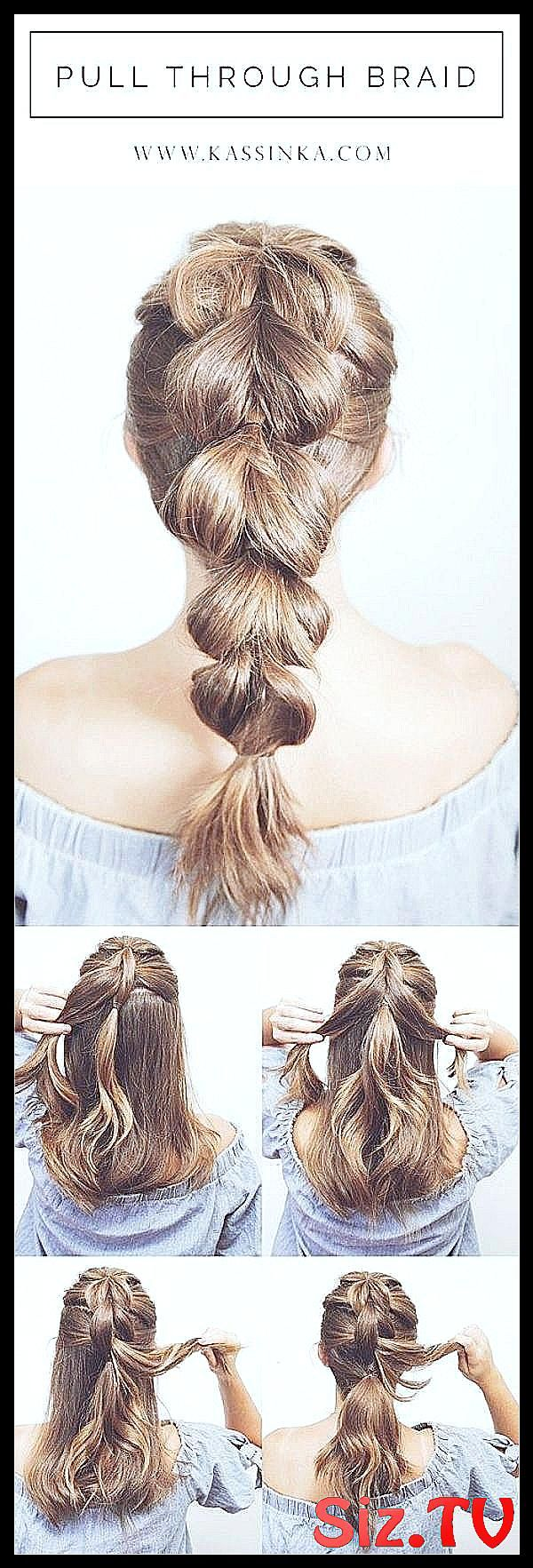 45 Kids Easy Hairstyle Tutorials for Professionals #Working # Professionals #The #easy # Hairstyles