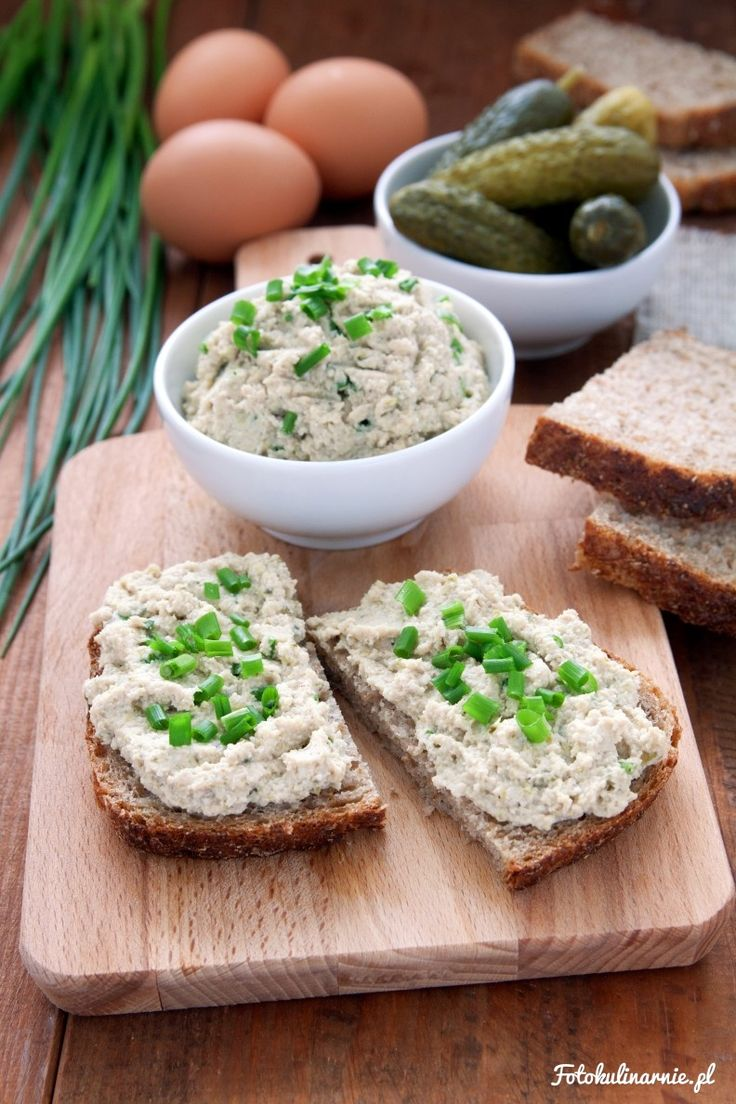 Smoked Mackerel, Egg and Cucumber Spread.