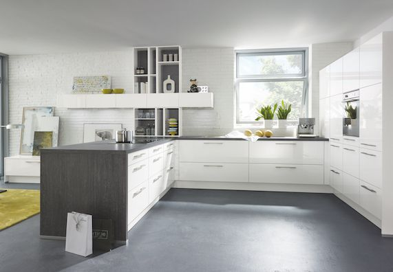 13 best küche images on Pinterest New kitchen, Open kitchens and
