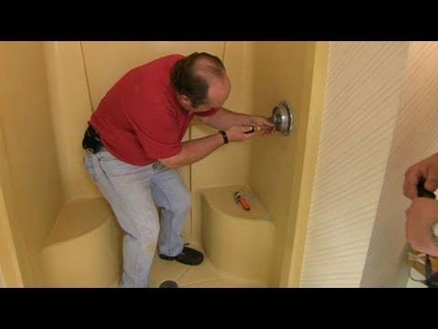 shower pan plus tips for installing cement backer over the lip and tiling
