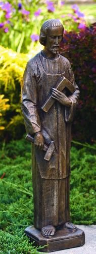 Saint Joseph The Carpenter Garden Statue St Joseph