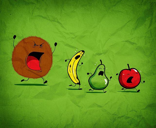 ¡Que viene el Coco!   Ilustración de Óscar Ospina.