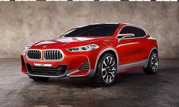 Концепт кроссовера BMW X2 / БМВ Х2