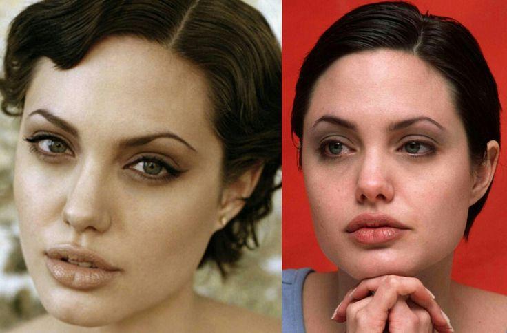 Angelina Jolie - short hair