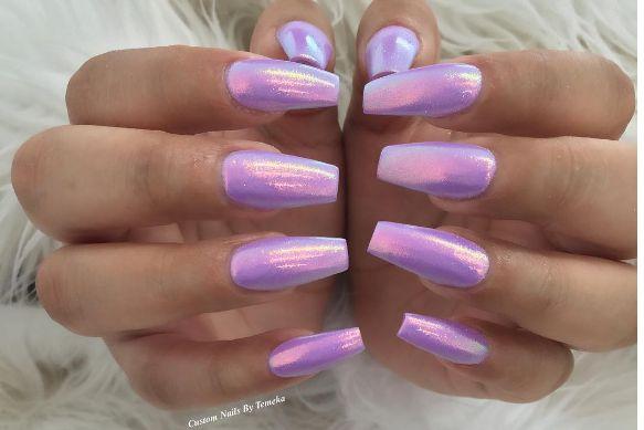 Light Purple with Ocean Nail Supply Fairy Dust
