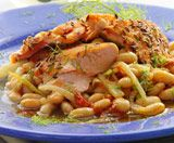 Healthy recipies for every meal!: White Beans, Dinner, Healthy Eats, Fish Recipes, Healthy Eating, Fennel Crusted Salmon, Healthy Food, Healthy Recipes, Seared Salmon