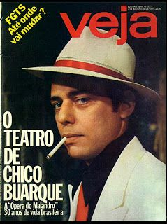 "Capa revista Veja - ""A Opera do Malandro"" - agosto de 1978"