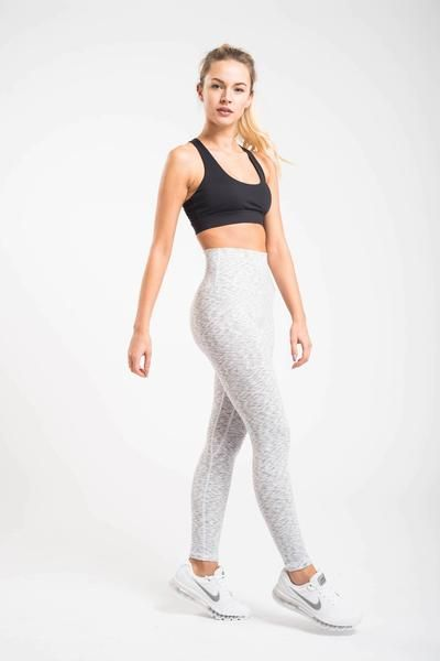 5de292797c Luxe Leggings - All White Everything – FLEXXFIT | Fitness outfits ...