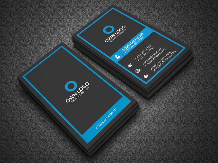 649 best business cards images on pinterest business cards vertical business card by zavad on creative market reheart Gallery