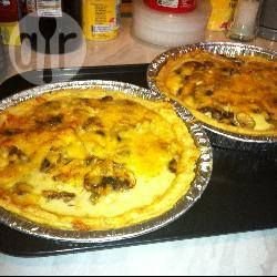 Mushroom quiche with shortcrust pastry @ allrecipes.co.uk