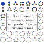 La mejor animación para aprender a factorizar en números primos