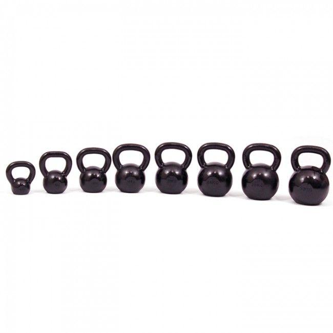Kettlebell Russian 32 kg  Description: De Russian kettlebell is een gietijzeren gewicht en komt oorspronkelijk uit Rusland. De kettlebell is compact onverwoestbaar en je kunt er je hele lichaam op een snelle en effectieve manier mee trainen. In tegenstelling tot de meeste andere fitness oefeningen die zich richten op individuele spieren gebruik je voor kettlebell oefeningen vele spiergroepen tegelijk met als resultaat een toename van je algehele spierkracht flexibiliteit en…