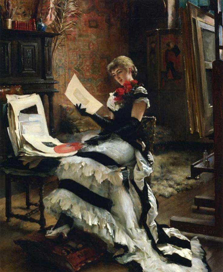 Albert Edelfelt - Chez l'artiste