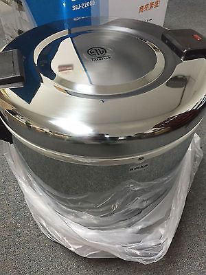 AMKO Electric Rice Warmer / Commercial / 21 Liter / 100 Rice Bowls(cooked) #Business #Industrial #Restaurant #Catering #SEJ-22000
