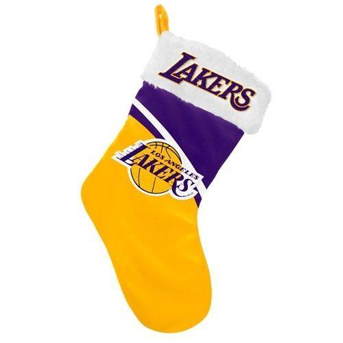 Los Angeles Lakers NBA 2013 Swoop Plush Stocking
