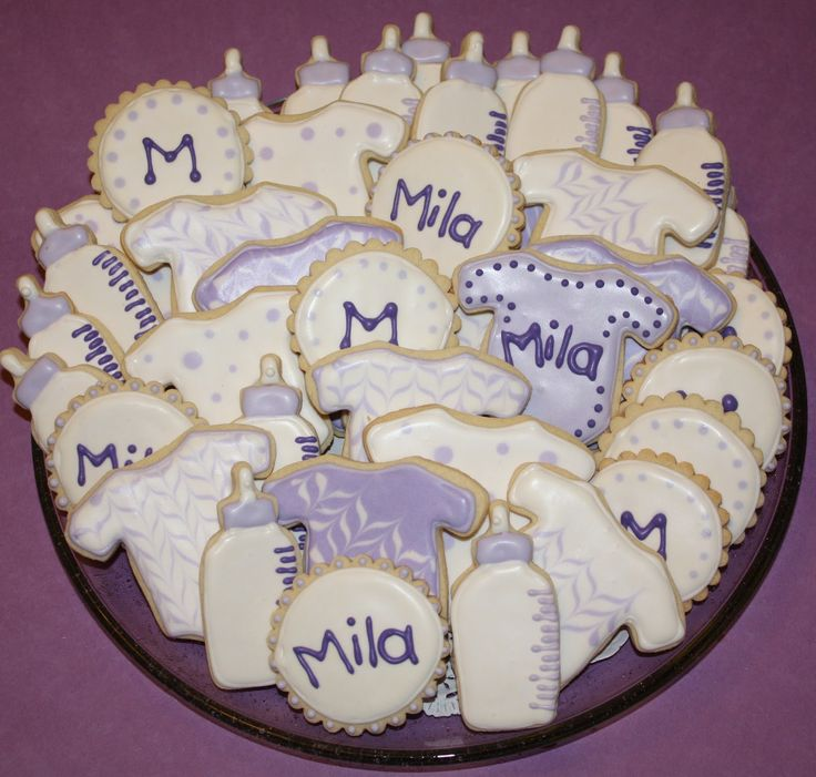 Cookie For Baby Shower Melu0027s Sweet Treats: Baby Cookies