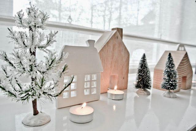 DIY huisjes van klei en hout