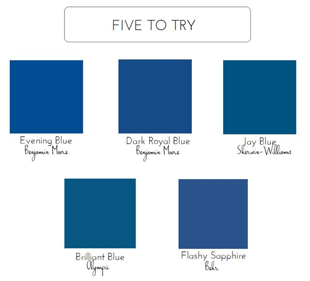 5 Bold Colors For The Front Door Front Door Colors Blue