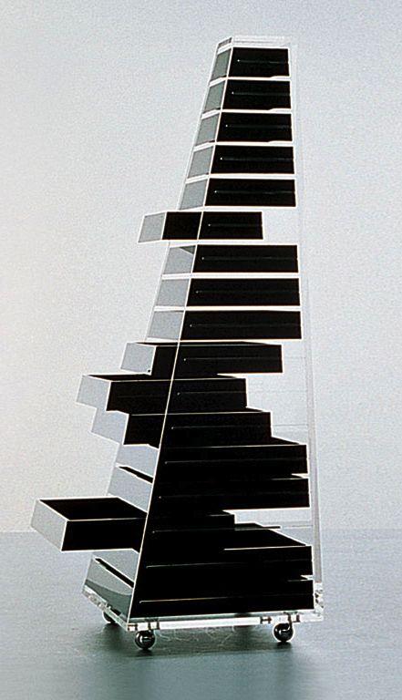Shiro Kurumata . piramide furniture, for Cappellini