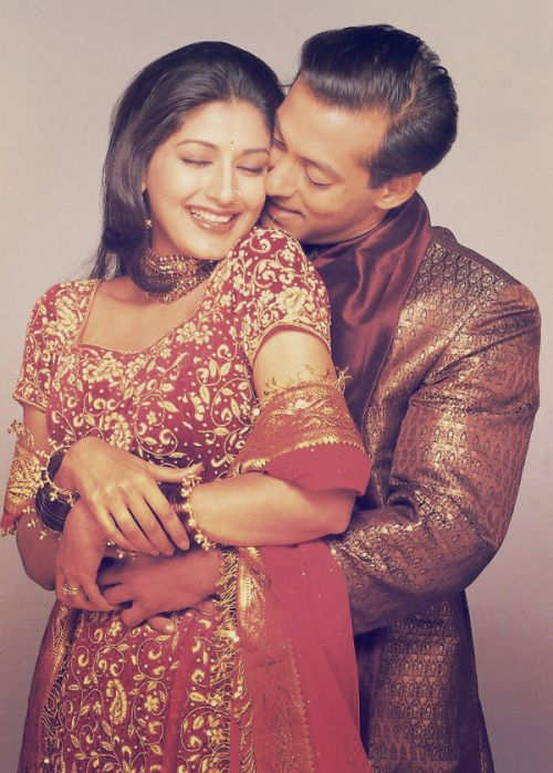 Sonali Bendre & Salman Khan / Hum Saath-Saath Hain: We Stand United