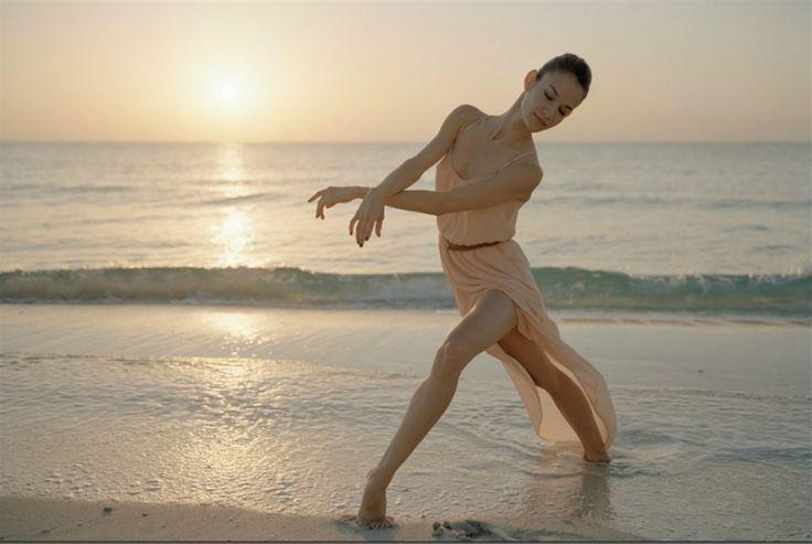 ballerina at the beach #photography #beach #dance #ballerina